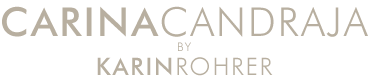 CarinaCandraja by Karin Rohrer Logo